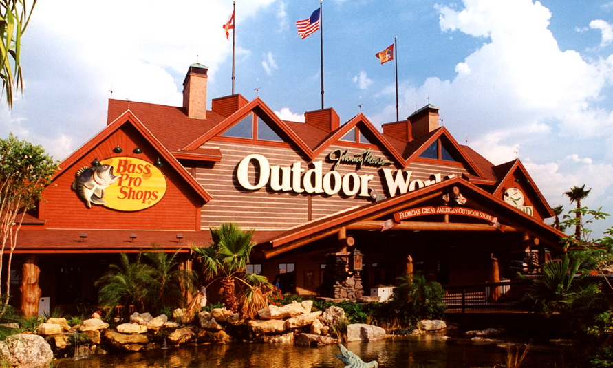 Bass Pro Shops Outdoor World Today S Orlando