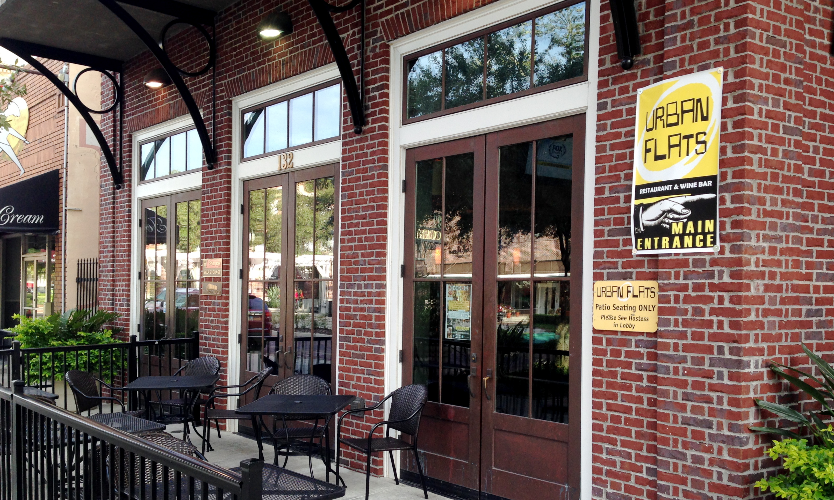 the restaurant and wine bar is located in historic downtown winter garden - Downtown Winter Garden