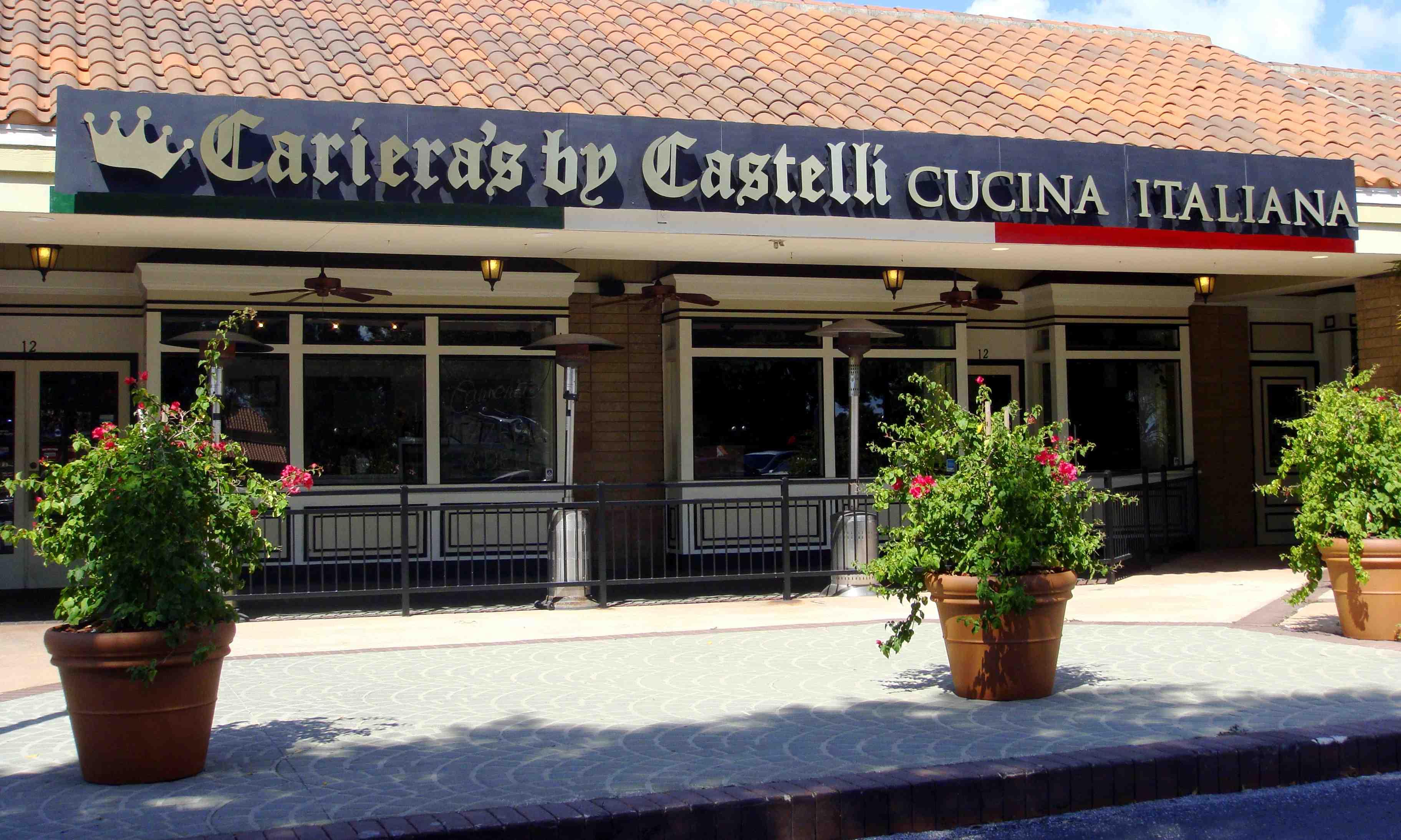 Cariera 39 s by castelli cucina italiana today 39 s orlando for Cucina italiana