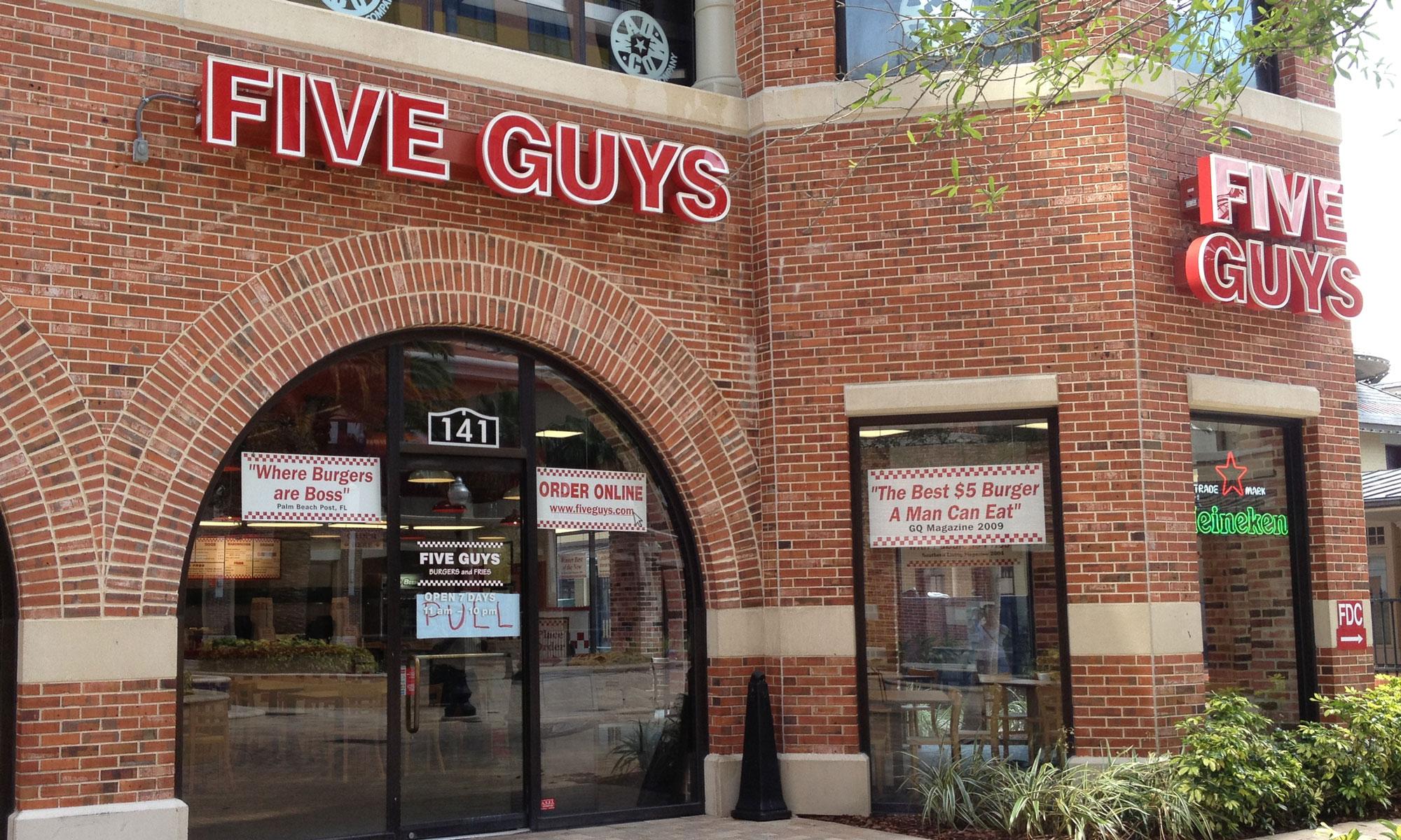 Five Guys Burgers Fries W Church St