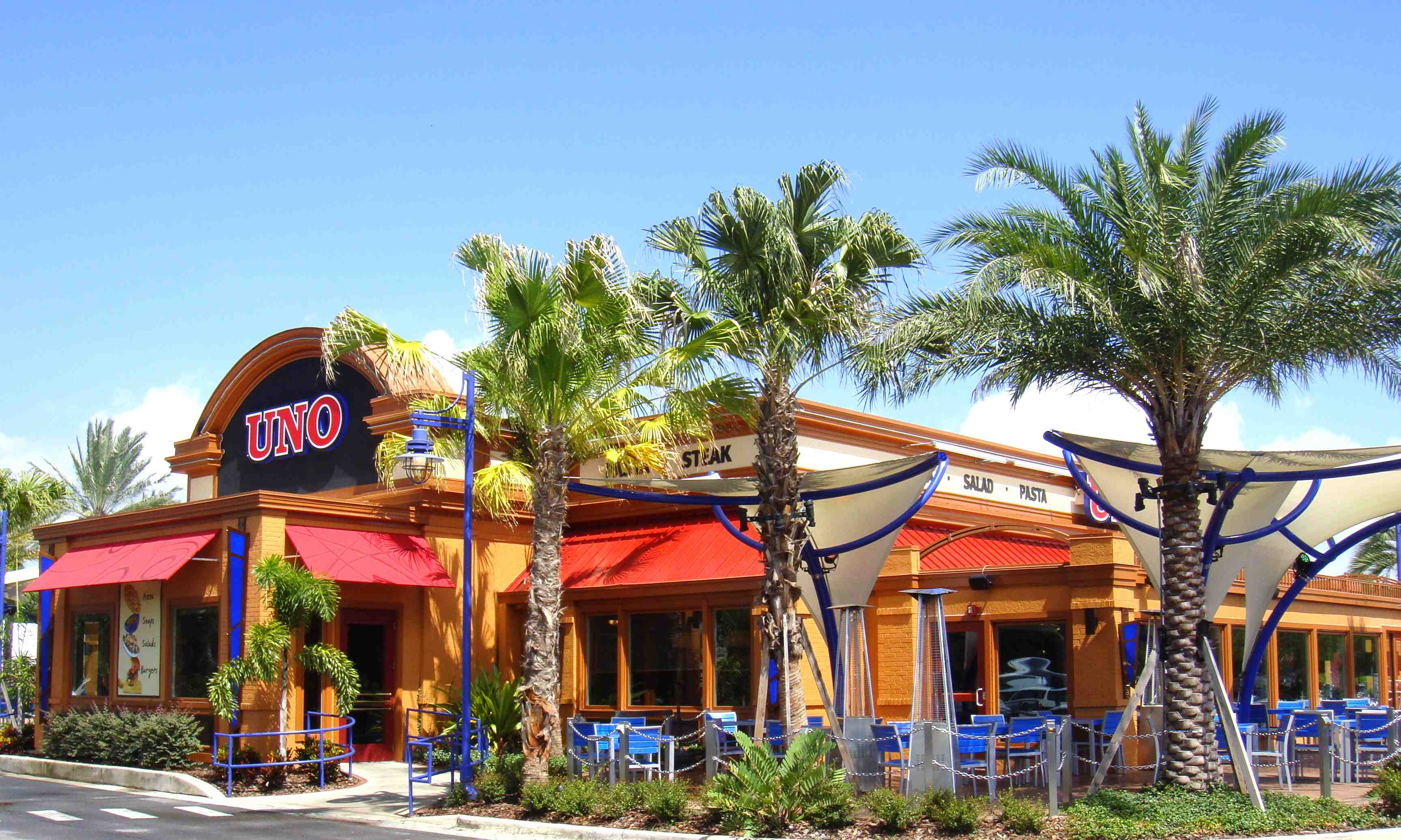 Uno Pizzeria & Grill - Home - Orlando, Florida - Menu ...