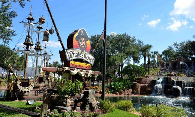 Pirate S Cove Adventure Golf Today S Orlando