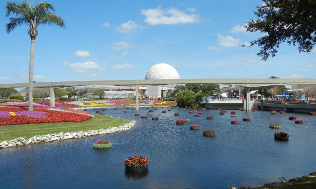 EPCOT International Flower & Garden Festival in Orlando Florida