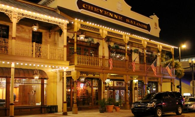Five ghosts haunt the Cheyenne Saloon in downtown Orlando.
