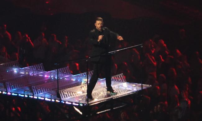 Justin Timberlake performed at Amway Center in Orlando.