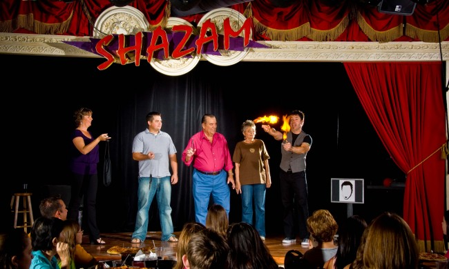 Shazam! Orlando's craziest magic show is not to be missed.