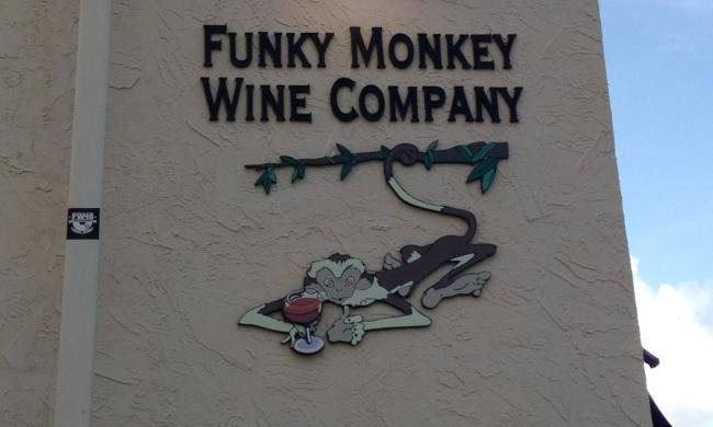 Funky Monkey Wine Co.'s downtown location has half-off sushi every Monday.