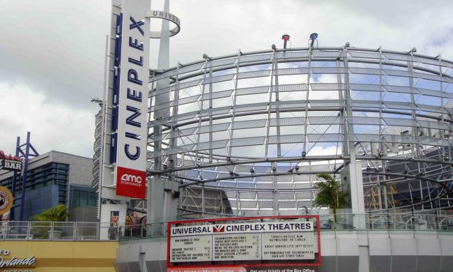 Universal Cineplex 20 is located at CityWalk.