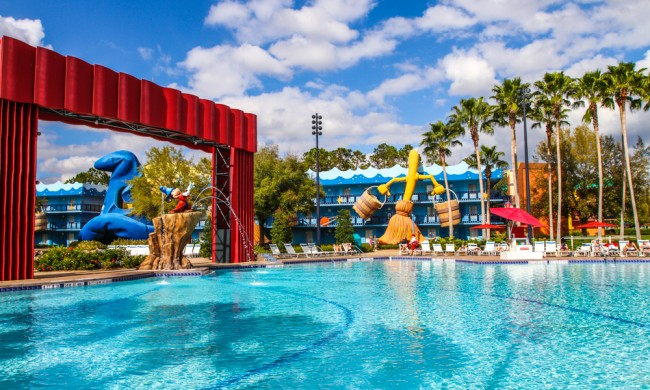 Be a part of classic Disney movies at Disney's All-Star Movies Resort!