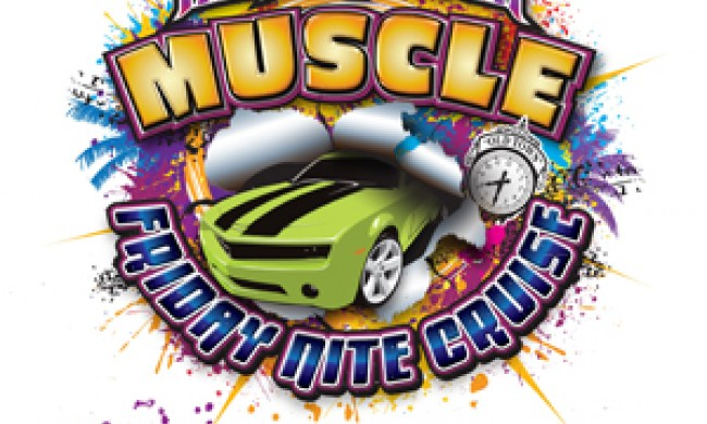 Friday Muscle Car Cruise At Old Town Todays Orlando - Kissimmee car show saturday