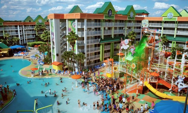Nickelodeon Suites Resort Today 39 S Orlando