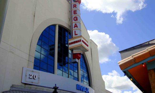 Regal is located at Pointe Orlando on International Drive.
