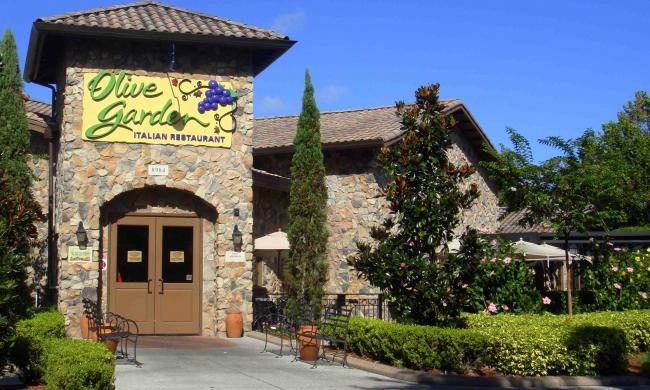 Olive garden i drive today 39 s orlando Does olive garden have take out