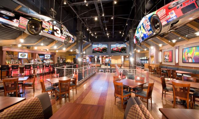 Nascar sports grille today s orlando
