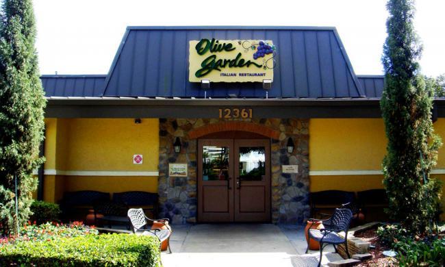 Beautiful Olive Garden   Lake Buena Vista