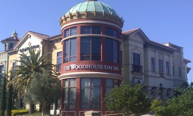 Woodhouse Day Spa is located in the Dellagio on Sand Lake Road.