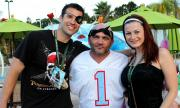 Big Brother and Survivor stars visit Central Florida to raise money for Give Kids the World Village.