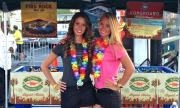 Kona Brewing Co. represents at The Plaza Live's craft beer festival.
