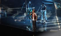 Bruno Mars performs for a sold-out crowd at Amway Center in downtown Orlando