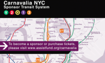 The New York-themed fundraiser benefitted The Assistance Fund.
