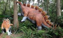 Dinosaur World in Plant City has more than 150 dinosaurs on display.