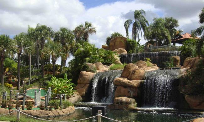 Lost Caverns Adventure Golf has two 18-hole courses.