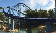 The Manta at SeaWorld Orlando is one of the best roller coaster in Orlando and Florida.