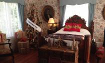 Each room at the Leu Holiday House is decorated to reflect a Christmas song.