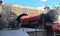 The Hogwarts Express at Islands of Adventure takes you from London to Hogwarts.