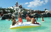 Blizzard Beach Water Park in Orlando.