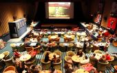 Enjoy dinner or drinks during your movie at Enzian Theater.